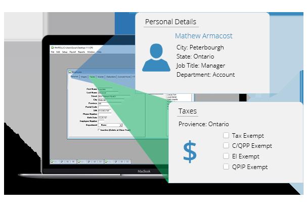 Checkmark Canada Desktop Payroll - Overview
